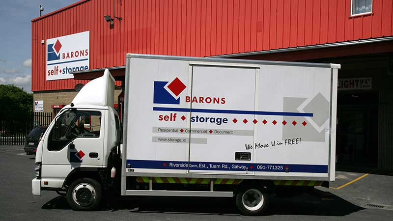Barons Self Storage Galway City