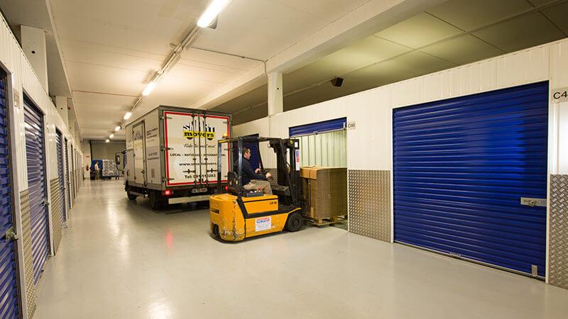 Barrons Self Storage rooms
