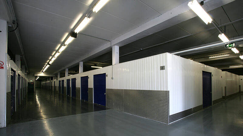 Storage units at Barons Self Storage