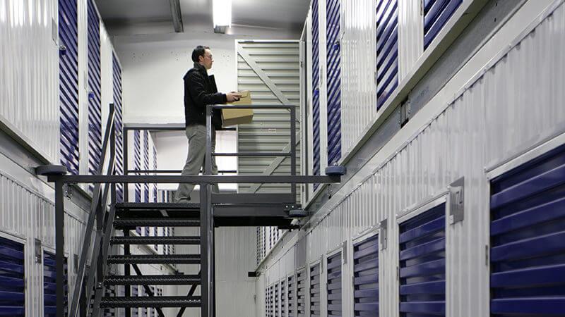 Secure storage at Barons Self Storage