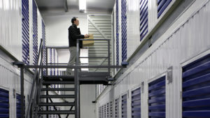 Secure storage at Barons Self Storage