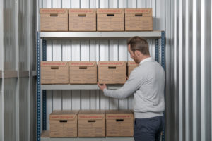 Document Storage at Barons Self Storage